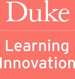 Duke Learning Innovation