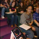 Clickers liven up lectures, increase learning