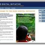 Duke Digital Initiative 2009-10 programs announced