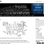 Blogging in Linguist 187, Variety in Language