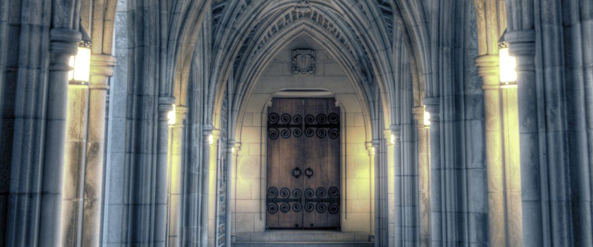 duke chapel doors