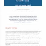 Online Duke annual report 2015-2016
