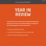 2014-2015 Online Duke annual report