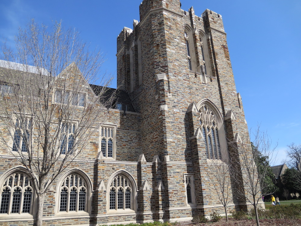 Duke campus Gothic building