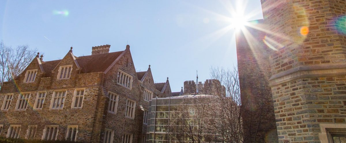 campus buildings and sky