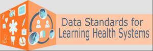 logo for data standards for learning health systems