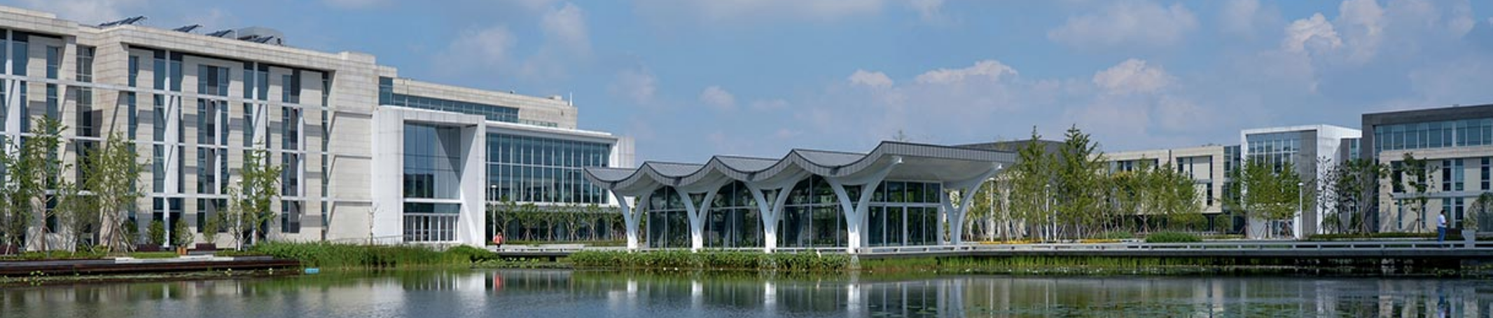 Exterior view of Duke Kunshan University