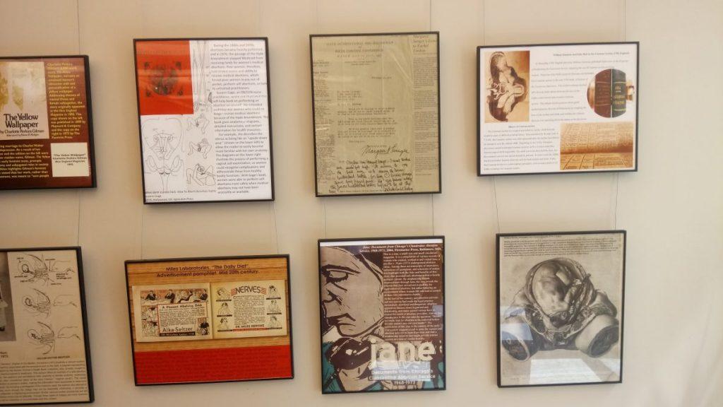 Example of student exhibit