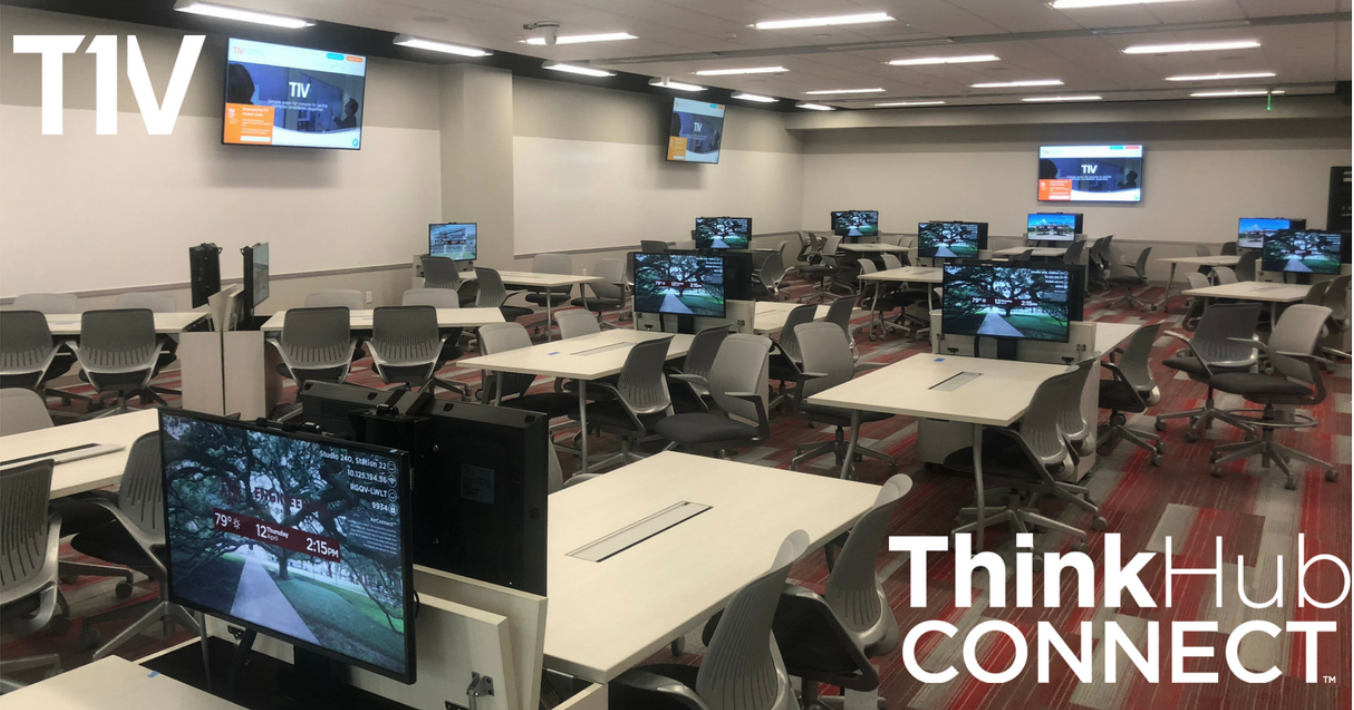 T1V ThinkHub Connect flier