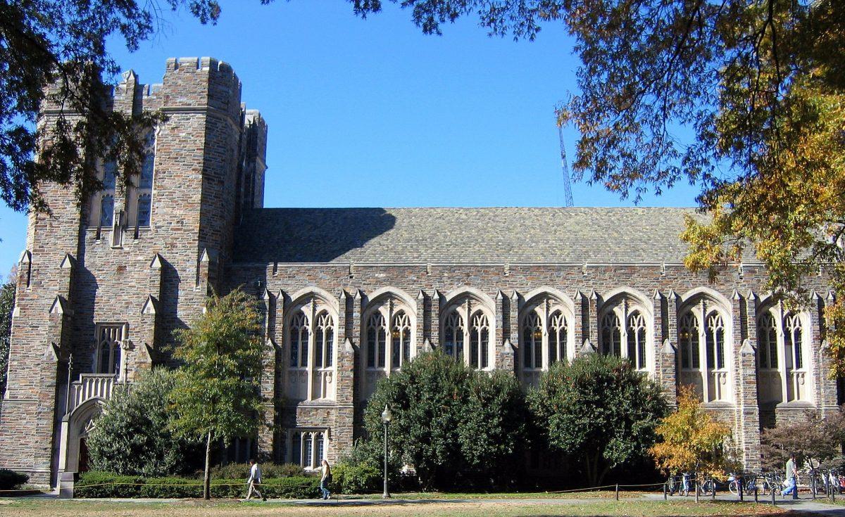 Perkins Library Duke Campus