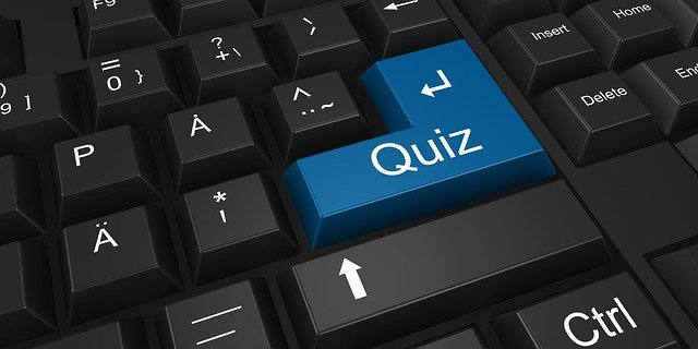 """""""quiz"""" key on a computer keyboard"""