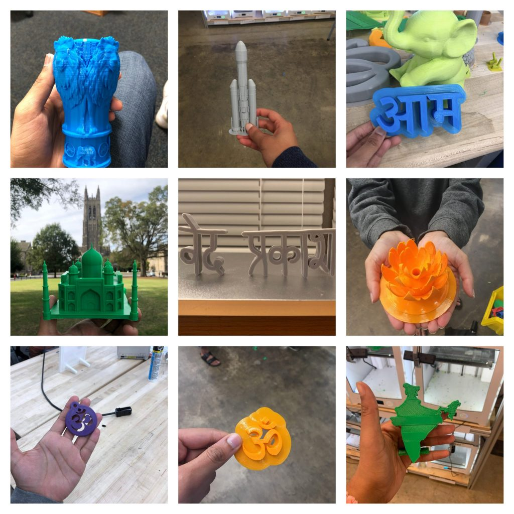 3-D printed objects