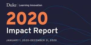 2020 Impact Report header screenshot