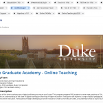 Bass Digital Education Fellows Spotlight Series: Dayton Kinney Trains Fellow Graduate Students